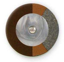 Chocolate RooPad Extreme - Domed Metal Resonator - Individual Pads