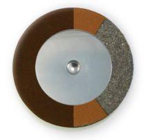 Chocolate RooPad Extreme - Flat Metal Resonator - Individual Pads