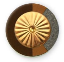 Chocolate RooPad Extreme - Maestro Star Airtight Gold Plated Resonator - Individual Pads