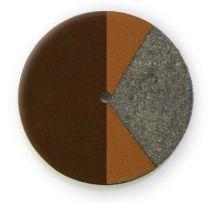 Chocolate RooPad Extreme - No Resonator - Individual Pads