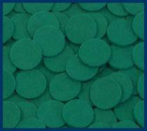 Green Felt Disks