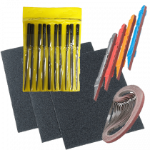 Theo Wanne Refacing Files and Sanding Tools