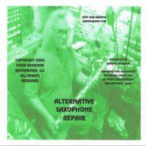 Alternative Saxophone Repair Techniques Video - DVD