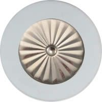 MusicMedic.com RooPads - Maestro Star Airtight Silver Plated Resonator - Individual Pads