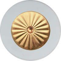 MusicMedic.com RooPads - Maestro Star Airtight Solid Brass Resonator - Individual Pads