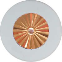 MusicMedic.com RooPads - Maestro Star Classic Gold Plated Resonator - Individual Pads