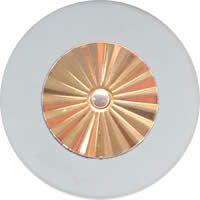 MusicMedic.com RooPads - Maestro Star Classic Solid Brass Resonator - Individual Pads