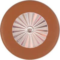 Tan Saxophone Pads - Maestro Star Classic Silver Plated Resonator - Individual Pads