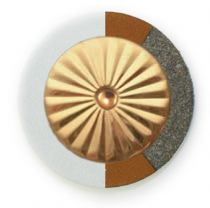 RooPad Extreme - Maestro Star Airtight Solid Brass Resonator - Individual Pads