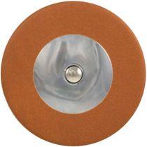 Tan Saxophone Pads - Domed Metal Resonator - Individual Pads