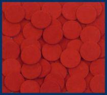 Red Felt Disks