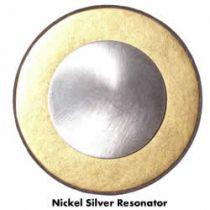 Jim Schmidt Gold Sax Pads - Nickel Silver Resonator - Pad Sets - Nickel Silver Resonator