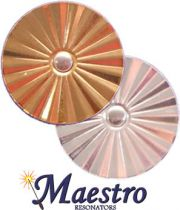 Maestro Star Classic Resonators - Gold Plated Brass