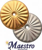 Maestro Star Airtight Resonators - Silver Plated Brass