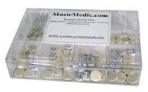 Thin Pressed Felt Clarinet Pads - Assortments