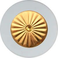 MusicMedic.com RooPads - Maestro Star Airtight Gold Plated Resonator - Individual Pads