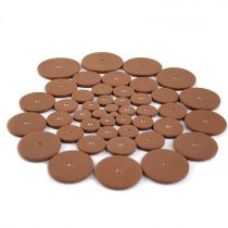 250 Piece Tan Pad Assortment- No Resonator