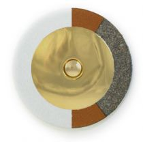 RooPad Extreme - Gold Domed Metal Resonator - Individual Pads