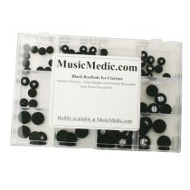 Black RooPads for Clarinet - Assortments