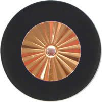 Saxgourmet Pads - Maestro Star Classic Gold Plated Resonator - Individual Pads