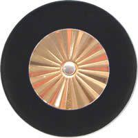 Saxgourmet Pads - Maestro Star Classic Solid Brass Resonator - Individual Pads