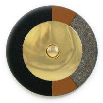 Saxgourmet Extreme - Gold Domed Metal Resonator - Individual Pads