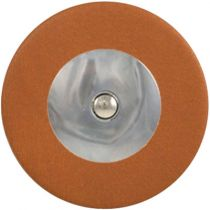 Tan Saxophone Pads - Domed Metal Resonator - Individual Pads